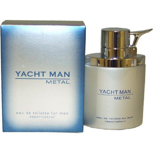 myrurgia yacht man spray de toilette de metal para hombres,