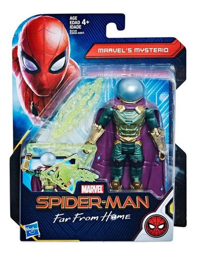 mysterio marvel 13cm spiderman far from home hasbro misterio