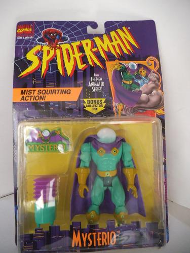mysterio spiderman vintage toy biz