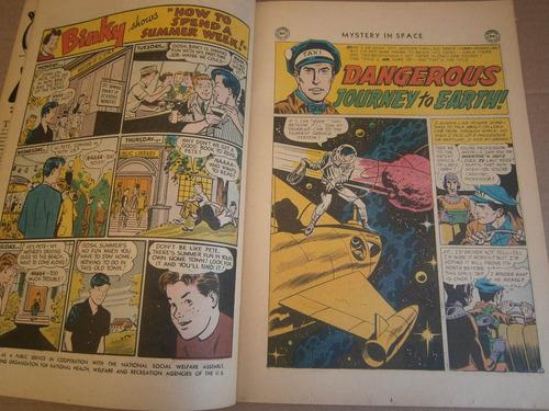 mystery in space # 34 dc estados unidos 1956 comic en ingles