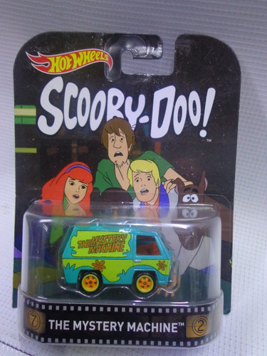mystery machine hot wheels retro llanta de goma mod. djf48