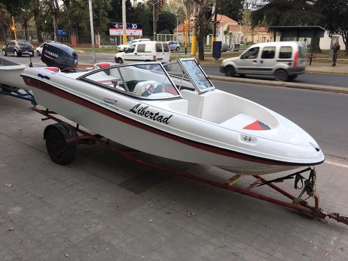 mystic 460 yamaha 40 hp full 2014