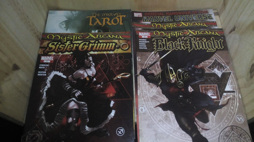 mystic arcana [completo] + marvel tarot scarlet witch magik