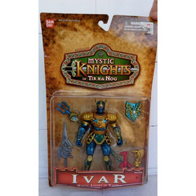 Mystic Knights Of Tir Na Nog - Boneco Ivar (cartela)