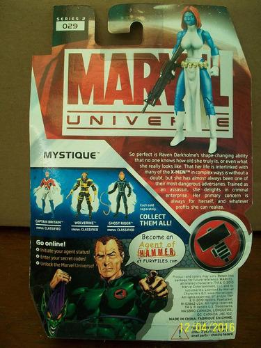 mystique no.29 marvel universe serie 2