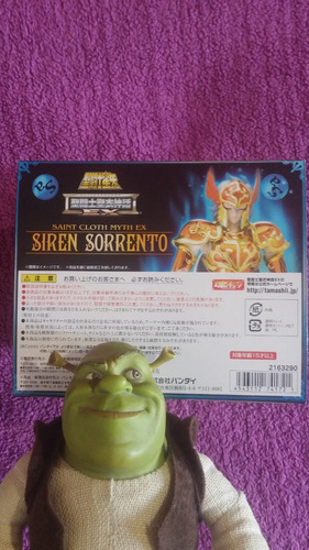 myth cloth ex sorrento de sirena ex limited edition jp