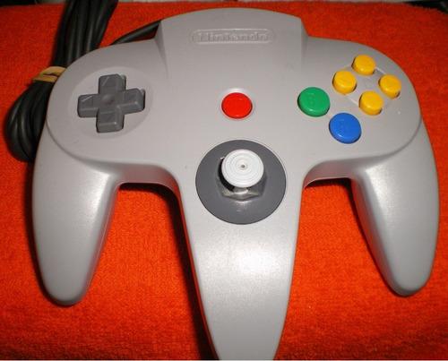 n-64: controle original tradicional com analógico game cube!