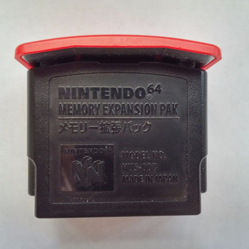 n-64: expansion pak 4mb original nintendo + garantia!!