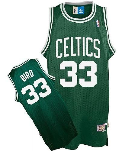 sale retailer a09d2 d7922 N. B. A. Jersey Boston Celtics #33 Bird (vintage) L