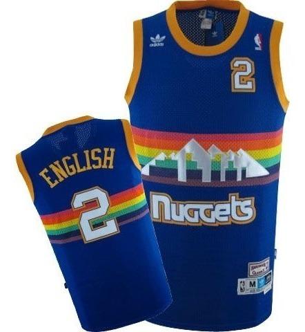 newest 58282 cfdc2 N. B. A. Jersey Denver Nuggets #2 English (vintage) L