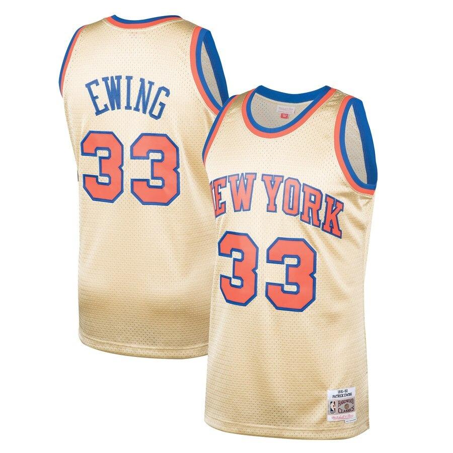 best cheap 39140 dab77 N. B. A. Jersey New York Knicks #33 Ewing - M -