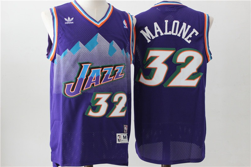 finest selection 1235c 29766 N. B. A. Jersey Utah Jazz #32 Malone (vintage) X L
