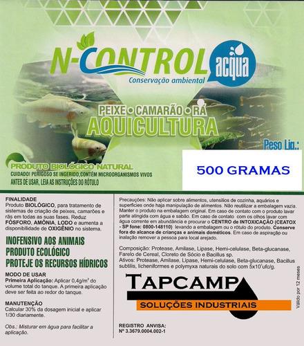 n control tratamento de água aquicultura  aquarios 1 kg