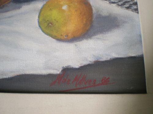 n. de m alves  - ''norba''  -  ost-pintura-quadro