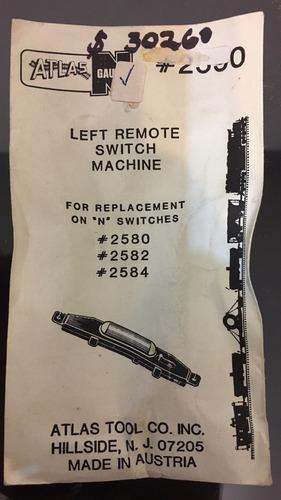 n gauge right remote switch machine usa 2591-1