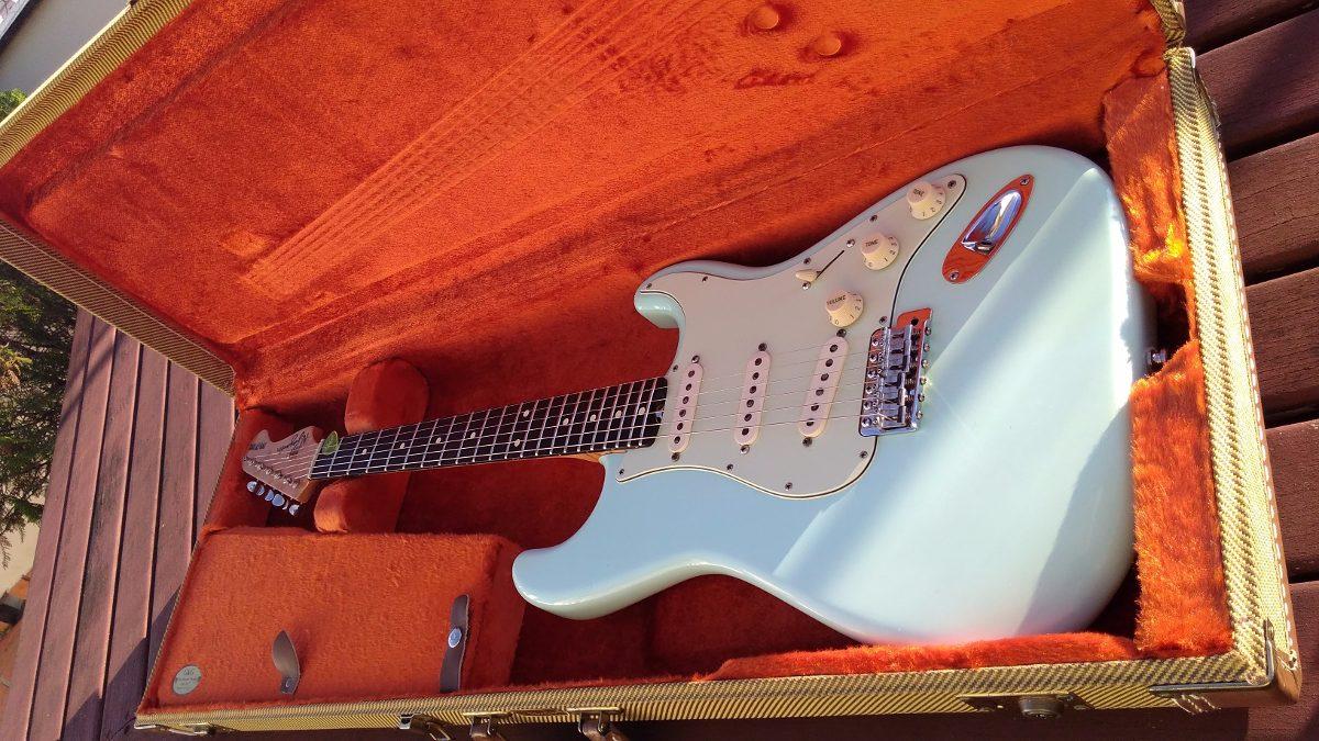 N  Zaganin Custom Shop Limited Edition Two Tone Guitar Shop