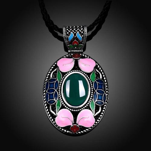 n001-c estilo vintage collar para las mujeres