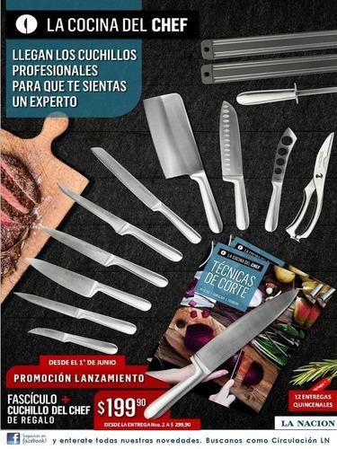 nº12 cocina del chef cuchillos la nacion -01108860012 ®