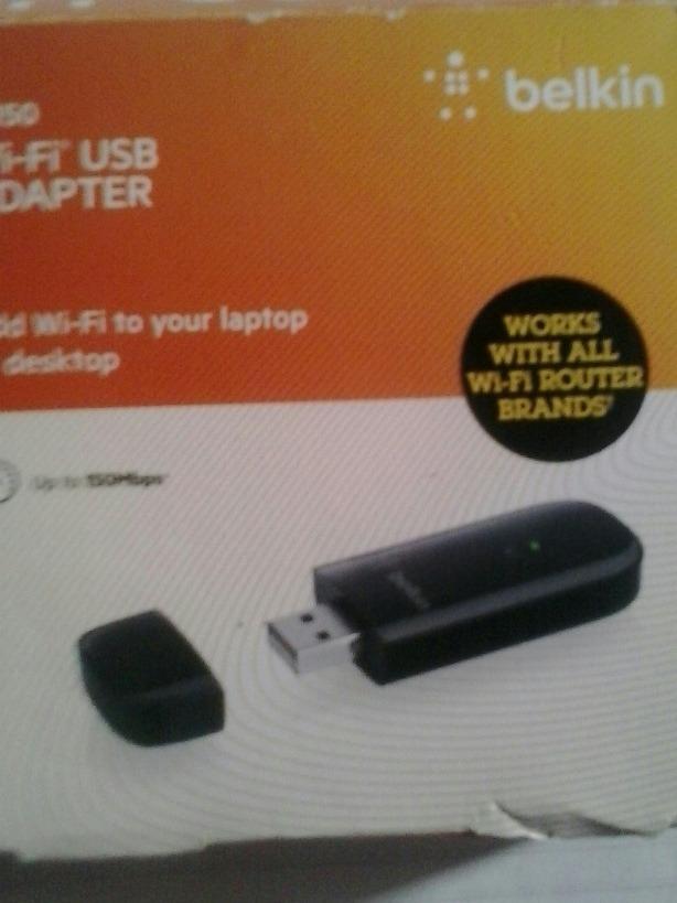 BELKIN WIRELESS N150 USB ADAPTER DRIVERS FOR WINDOWS