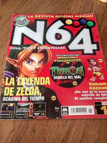n64 - la leyenda de zelda