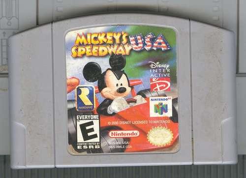 n64  mickey speedway
