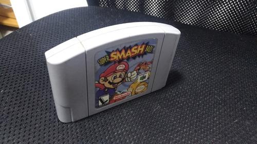 n64 - super smash bros - cartucho original nacional