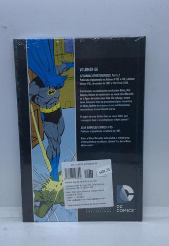 nº66 batman  dc comic novelas graficas - salvat