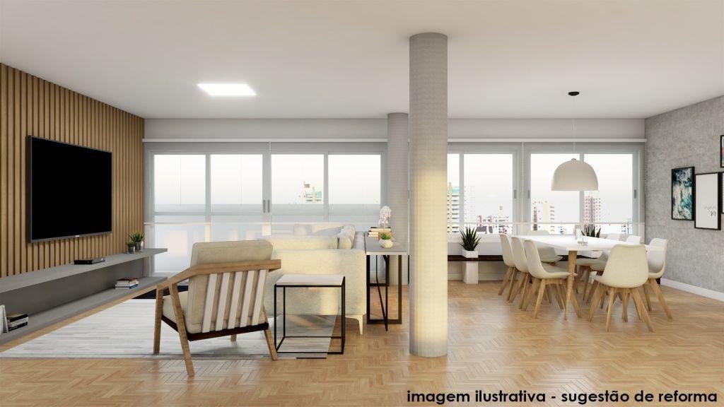 na av. 9 de julho, apartamento alto padrão, sem mobília - sf28359