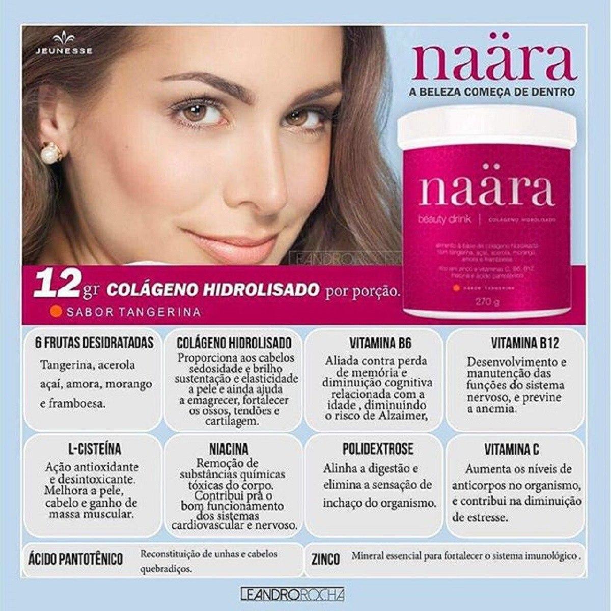 2ef15762f Naara Beauty Drink - Colágeno Hidrolisado Melhor Preço Do Ml - R ...
