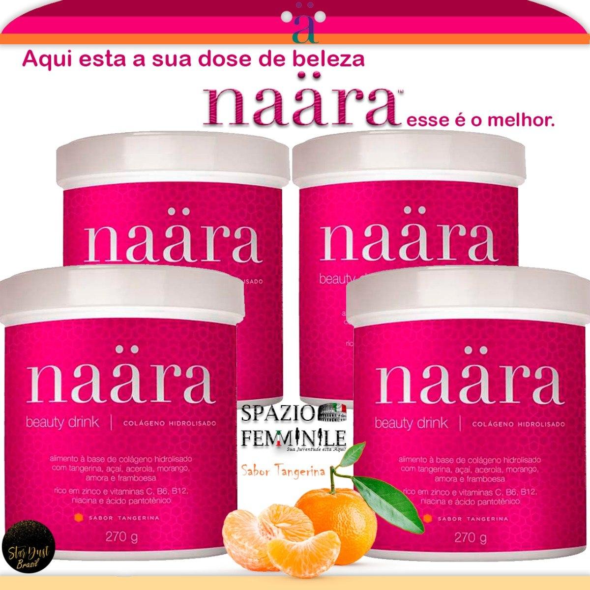804dac3ea Naara Beauty Drink Colageno Hidrolizado O Melhor 4uni. - R  300