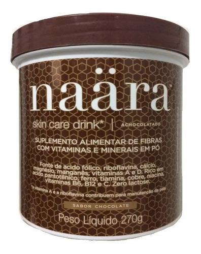 naara skin care drink - colágeno verisol - achocolatado