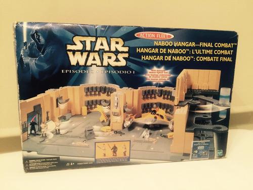 naboo hangar star wars action fleet