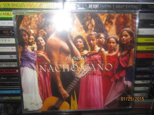 nacho cano el patio cd single nuevo ex mecano