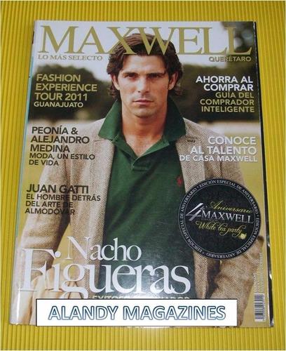 nacho figueras revista maxwell 2010