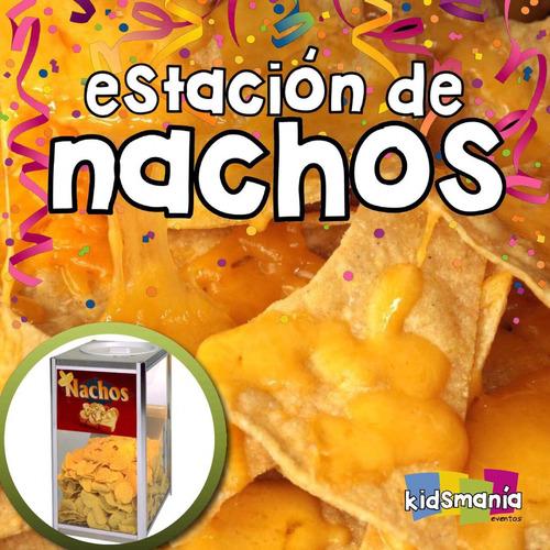 nachos y golosinas