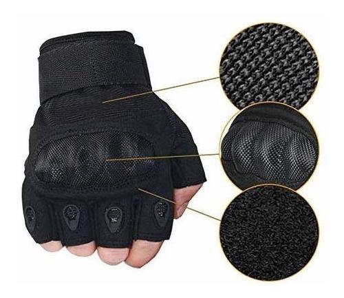 nachvorn hombres táctico militar goma nudillo duro guantes a