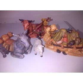 Nacimiento (pesebre) Porcelana Española (miro)