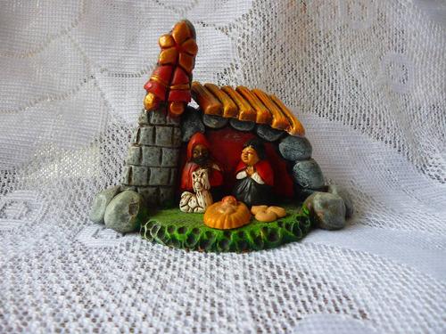 nacimiento de campana en cerámica
