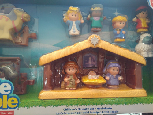 nacimiento little people fisher price