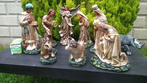 nacimiento navideño (artesanal yeso o resina)