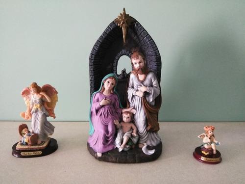 nacimiento niño jesus en cerámica (pesebre)
