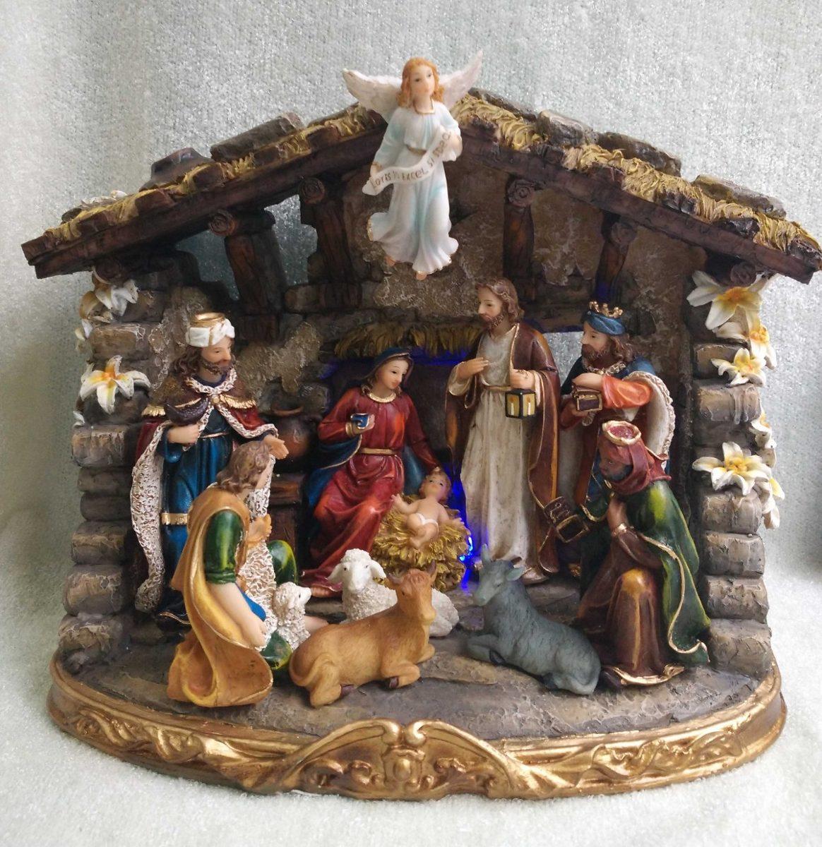 bf0230b3b35 Nacimiento Pesebre Navidad 22cm 529-32226 Religiozzi -   233.100 en ...