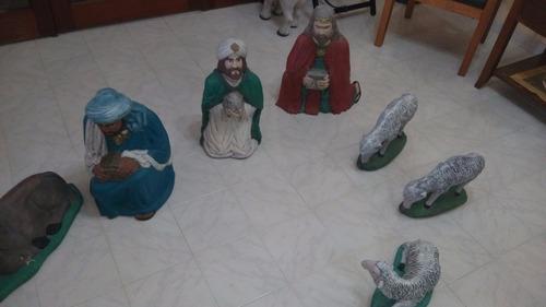 nacimiento pesebre navideño cerámica tamaño grandes leer