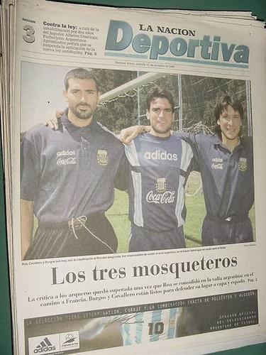 nacion deportiva 11/10/97 los pumas satriano agremiados