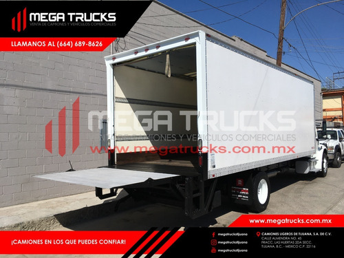 nacional 2012 freightliner m2 cs 24´pies rampa hidráulica