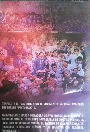 nacional campeon apertura 2014 dvd + libro