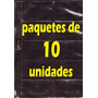 Láminas Para Tarjetas (10 Unidades + 3 Tarjetas De Regalo)