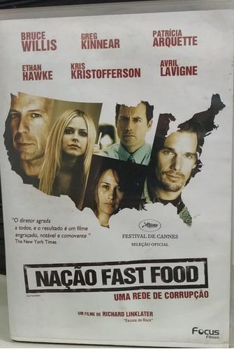 nação fast food -uma rede de corrupção -dvd