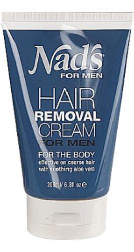nad para los hombres crema del retiro del pelo 6.8 oz (pack