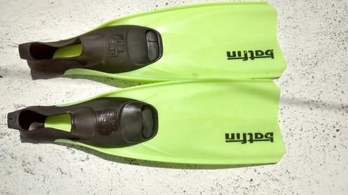 nadadeira seac sub batfin tamanho 39 40 italiana mergulho